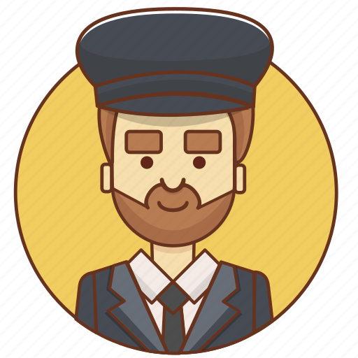 cartoon, character, character set, chauffeur, driver, guy, man icon