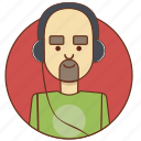 cartoon, character, character set, headphones, male, man, person icon