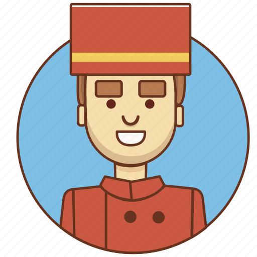 character set, employeer, guy, hotel, male, man, person icon