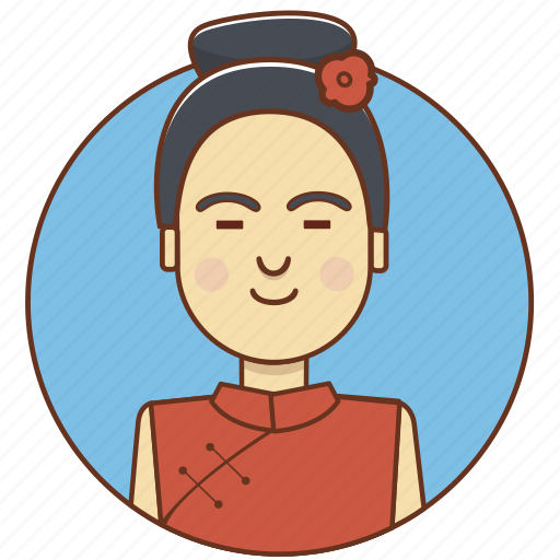 character, china, chinese, fashion, girl, person, woman icon