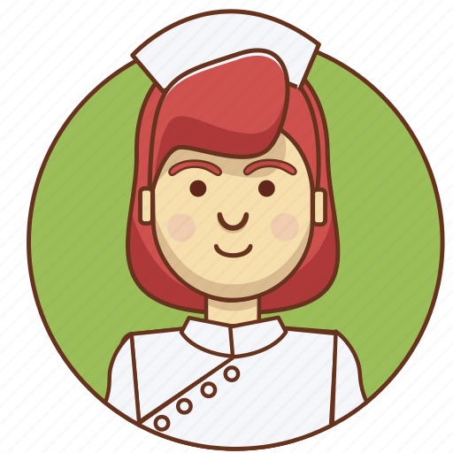 character, character set, girl, nurse, person, profession, woman icon