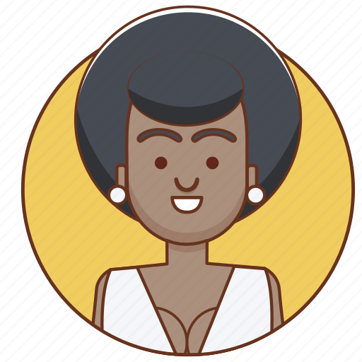 black person, character, character set, fashion, girl, person, woman icon