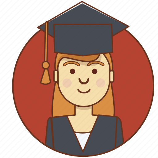 Image result for graduate girl icon