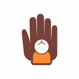 care, charity, children, donation, hand, help, protection icon