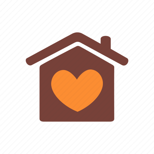 charity, donation, heart, help, homeless, protection, shelter icon