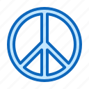 charity, hippie, hippy, love, peace icon