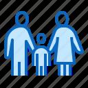 adoption, child, family, parents, pediatrics icon