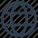 global, globe, internet, network, world icon