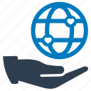charity, global, organization icon