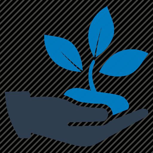 eco, ecology, nursing, plant, plantation icon