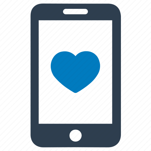 app, dating, heart, love, mobile icon