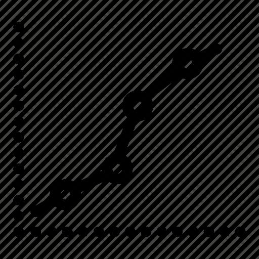 chart, graph, pie, statistics icon