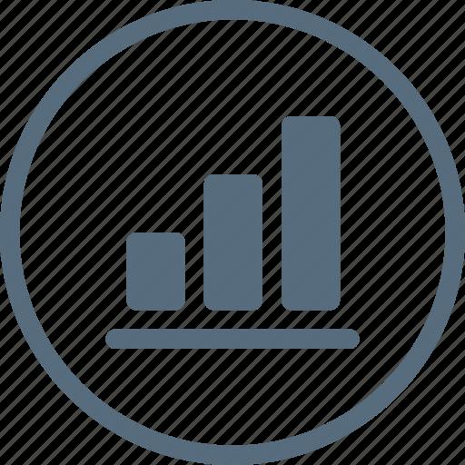 analysis, analytics, chart, column, graph, growth, up icon
