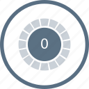 control, load, loading, percentage, spinner, volume icon