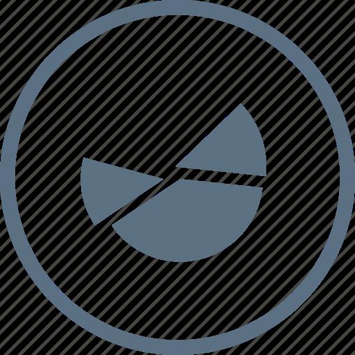 analytics, business, chart, diagram, finance, pie, report icon