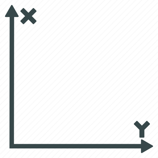 axes, cartesian, coordinate system, coords, geometry, math, rectangular coordinates icon