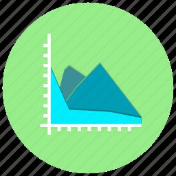 chart, charts, graph, presentation icon