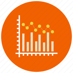 bars, chart, charts, graph, presentation icon