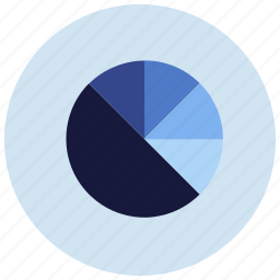 charts, circle, graph, percentage, presentation icon