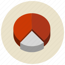 chart, charts, pie, presentation icon