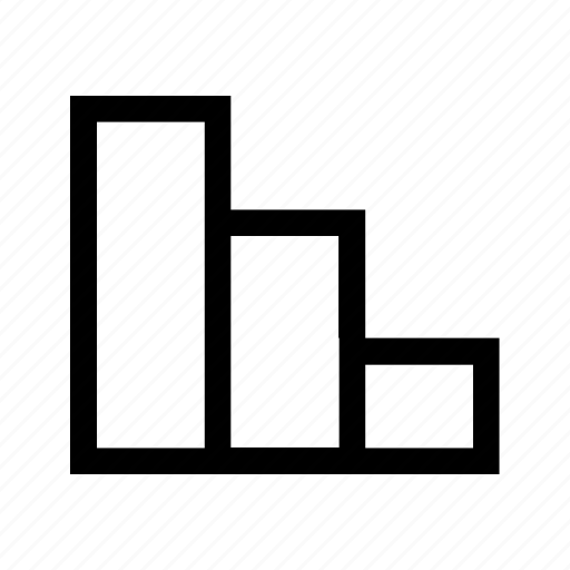 analysis, chart, column, columnchart, columns, graph, layout icon