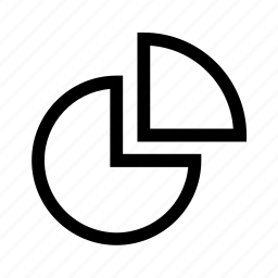 graph, pie chart, slice icon
