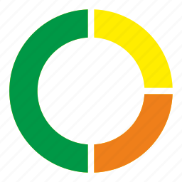 chart, circle, diagramm, statistics icon