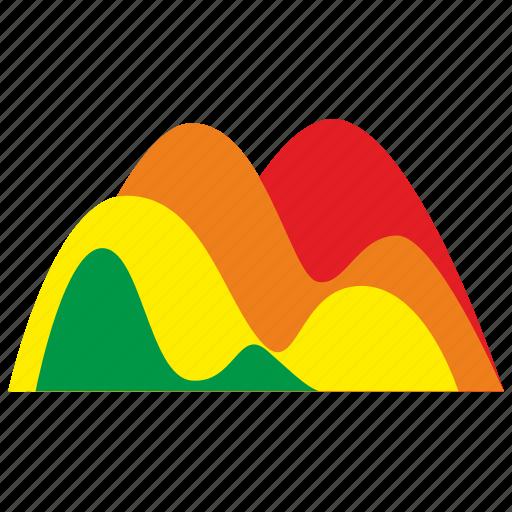 chart, data, exchange, extremum icon