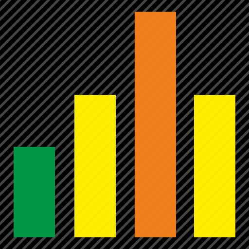chart, data, gistogram, maximum icon