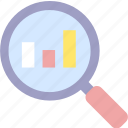 analysis, analytics, chart, marketing, statistics icon