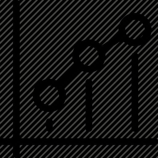 analytics, chart, data, dot, dot-chart, graph, plot icon