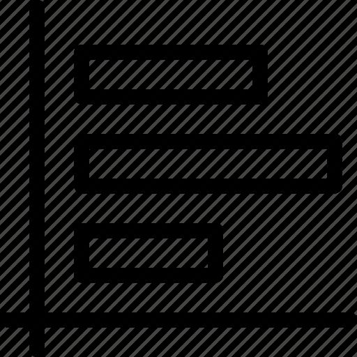 analytics, blocks, chart, data, landscape, landscape-chart, line-icon icon