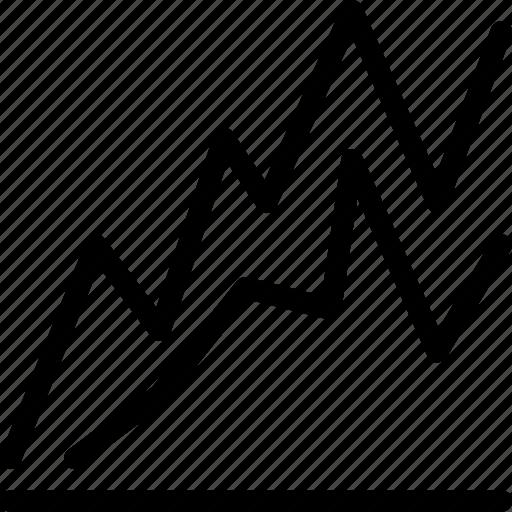 analytics, chart, data, graph, line, line-chart, line-icon icon