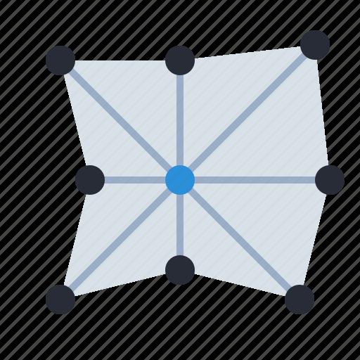 chart, diagram, field, magnitude, radar, schedule, scheme icon