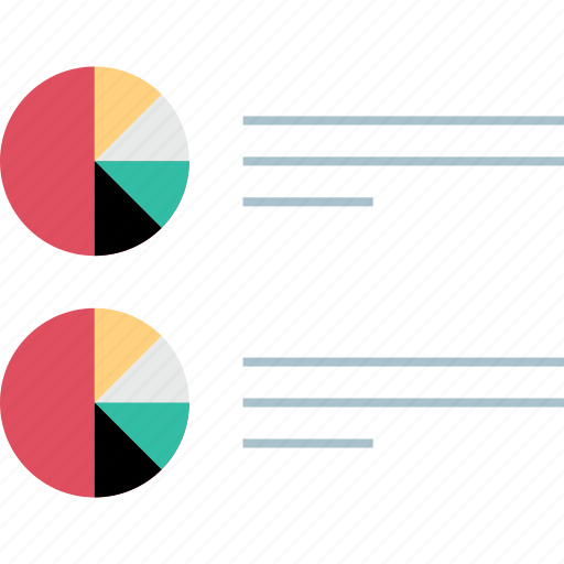 bars, data, listing, report icon