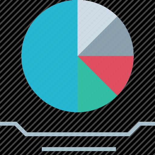 data, diagram, graph, report icon
