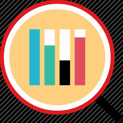 data, find, search, seo icon