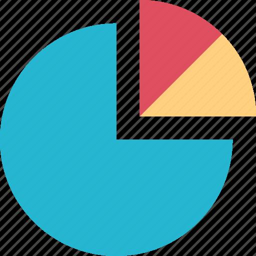 data, graph, pie, research icon