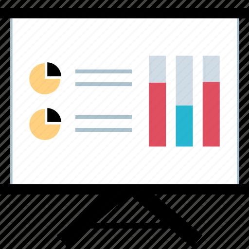 graph, report, seo, study icon