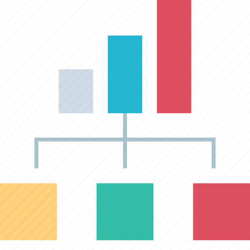 diagram, graph, seo, web icon