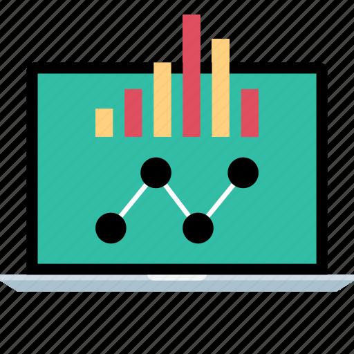 graph, report, seo, web icon