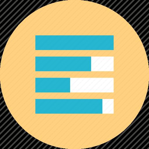 bars, data, web, www icon