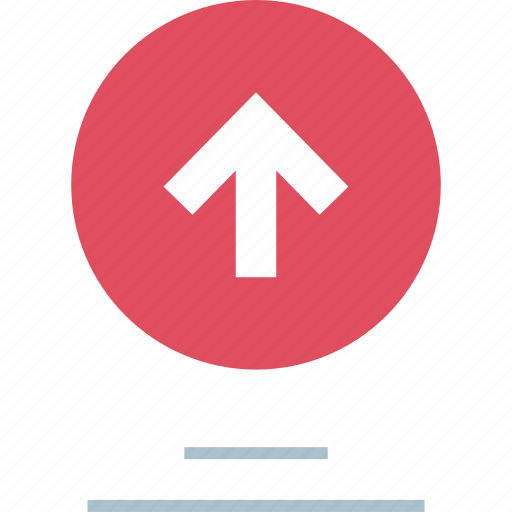 analytics, arrow, graph, up icon