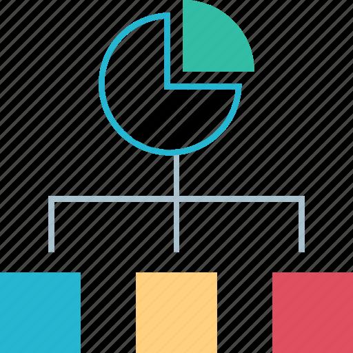 connect, data, graph, report icon