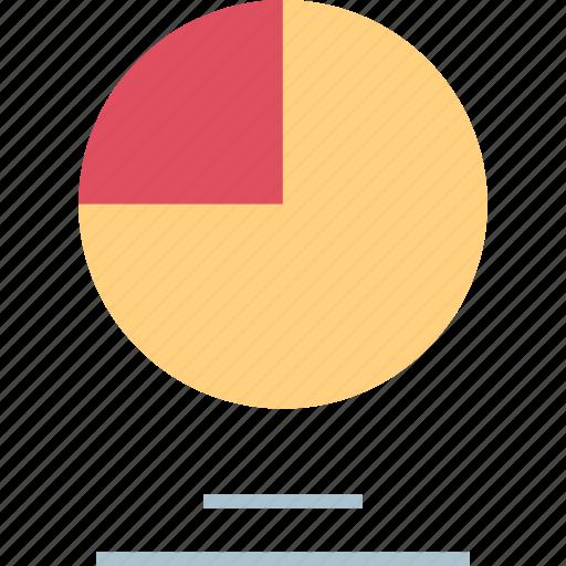 chart, data, graph, pie icon