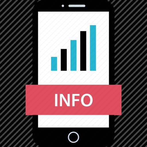 data, info, mobile, web icon