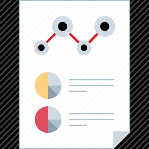 data, report, seo, web icon