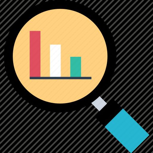 data, find, graph, search icon