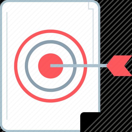 analytics, target, web icon