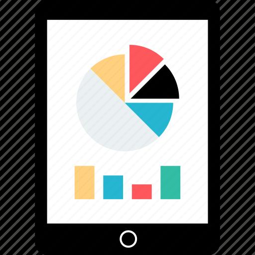 analytics, ipad, tablet icon